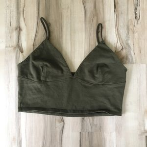 Other - Green bralette/top